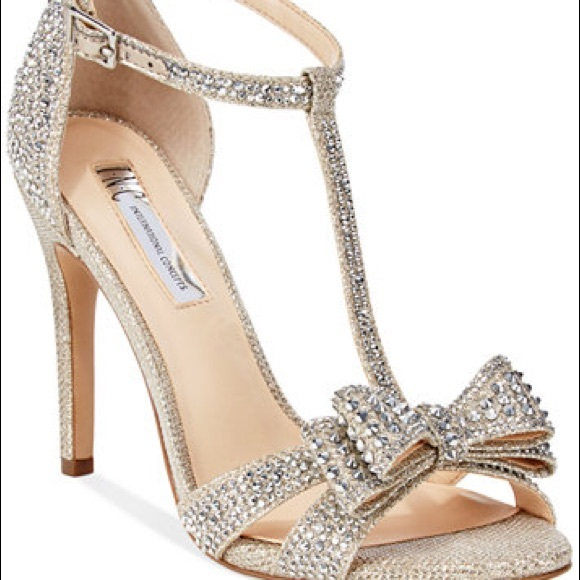 f0c847da8c7 INC International Concepts Shoes - INC Ressie 2 Sparkly Evening Sandals  with Bow